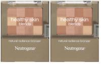 Neutrogena Healthy Skin Blends Natural Radiance Bronzer, Sunkissed (Pack of 2)