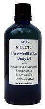 ATTIS Melete Deep Meditation Body Oil | Sandalwood Cedarwood Frankincense 100 ml