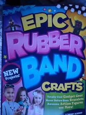 Epic Rubber Band Crafts Loom Bands  New Book