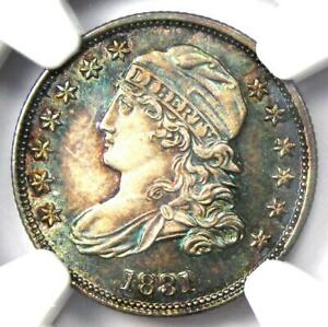 1831 Capped Bust  Dime 10C Coin - Certified NGC MS65 (Gem BU) - $9,550 Value!