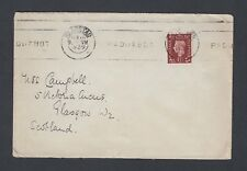 UK 1939/61 TWO CAPETOWN SOUTH AFRICA PAQUEBOT COVERS TO GLASGOW & BIRMINGHAM