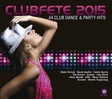 Club Festa 2015-44 CLUB DANCE & Party Hits 2 CD NUOVO