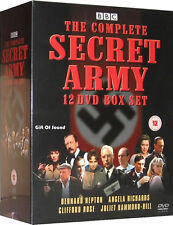 Secret Army The Complete Series on 12 DVDs - New Sealed