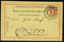 AUSTRIA-TURKEY 1902 CONSTANTINOPLE II TYING 20 ON