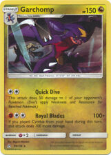 x4 Garchomp - 99/156 - Rare Pokemon SM5 Ultra Prism M/NM English