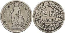 Schweiz 2 Franken 1886 B #I216