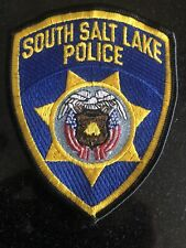 South Salt Lake Police Department Patch