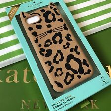 KATE SPADE Cheetah Cat iPhone 7 and 8 Case Cover ~ NEW in Box ~ GENUINE