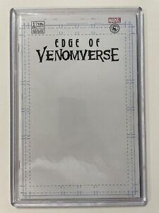 🔥MINT COPIES! EDGE OF VENOMVERSE #1 BLANK SKETCH VARIANT MARVEL SCORPION COMICS