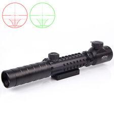 Brand New 3-9X32EG R/G Hunting Optical Rifle Scope Tactical 20mm Rail Mount