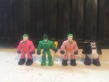 Imaginext DC Joker The Riddler Penguin Figures Joblot