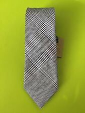 NWT Burberry Manston Check Silk Tie LIGHT COPPER PINK Made in Italy Retail $190