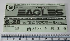Eagles Japan used concert ticket stub Others Listed June 28th 1979 Don Henley