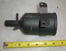 oil vapor separator, stainless steel, black powdercoat, 5003549