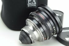 Carl Zeiss distagon 8mm f/2 Prime lente para Arriflex 16mm
