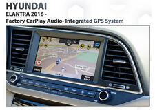 Hyundai Elantra 2016+ Built-in GPS mobile free Navigation latest Map install kit
