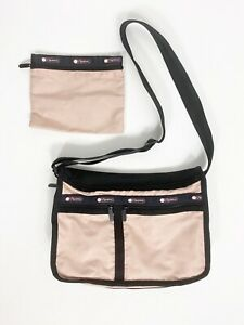 LeSportsac Deluxe Everyday Expandable Crossbody Shoulder Purse & Cosmetic Bag