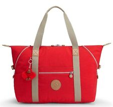 Kipling Art M Medium Travel Tote 58 Cm 26 Liters Red True Red C