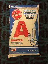 Genuine HOOVER Type A  Filter Vacuum Cleaner Bags 3 BAGS