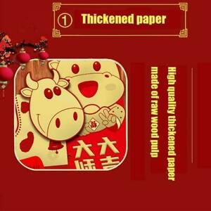Lucky Chinese Red Envelopes Lucky Pockets Red Packet For New HOT Year Gift P1H9