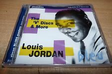 """NEW STILL SEALED CD - LOUIS JORDAN - THE """"V"""" DISCS AND MORE"""