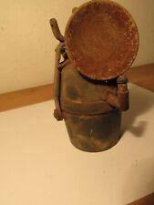 Alte kl. Grubenlampe Karbidlampe 13cm Nr. 0/0370/0005