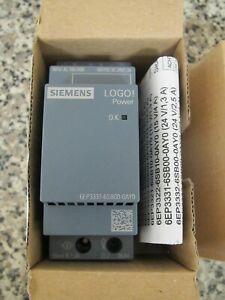 New Siemens LOGO!Power 6EP3331-6SB00-0AY0 DC 24V/1.3A AC100-240V Power Supply