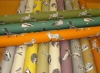 Prestigious Textiles Nature Animals Cotton Curtain Upholstery Roman Blind Fabric