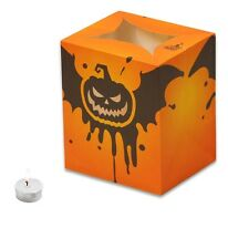 CANDLE BAGS HALLOWEEN GRINNING BAT - 5 Pack