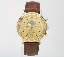 Vintage ChronoSWISS A. Rochat & Fils Moonphase Chronograph 37mm 7734 Mens Watch