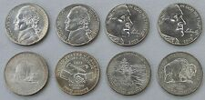 USA 4x5 Cents Jefferson 2004-2005 D Westward Journey Nickel unz.