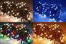 80/160/240/480 LED Christmas Party String Fairy Light Mains - Various Colours