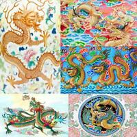 5D DIY Full Drill Diamond Painting Chinese Dragon Cross Stitch Decoration #JT1