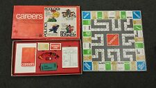 Careers Board Game Vintage 1971 Ages 8 And Up 2 to 6 Players Parker Brothers