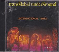 TRANS GLOBAL UNDERGROUND - international times CD
