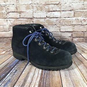 The Alps By Fabiano Hiking Boots Womens Size 9 L Blue Leather Shoes