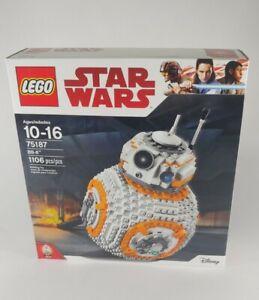 Lego 75187 Disney Star Wars BB-8 set - 1106 pcs - New - Factory Sealed - Retired