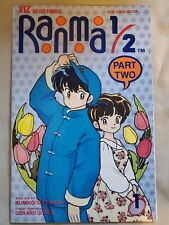Ranma 1/2 Part two # 1 Manga Comic Rumiko Takahashi Viz 1993