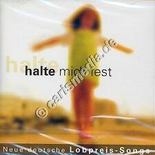 CD: HALTE MICH FEST! - Deutsche Lobpreissongs *NEU*