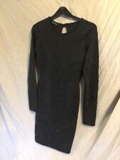 Miss Selfridge Bodycon Little Black Dress - UK 6 -Beaded/Pencil/Art Deco/Gatsby