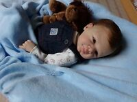 REBORN BABY doll CUSTOM MADE FOR YOU  -DESIGNED BY YOU MADE BY ME -BOY OR GIRL