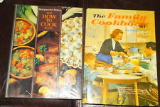 2 Vintage Marguerite Patten Cookbooks Family Cookbook & How to Cook Book
