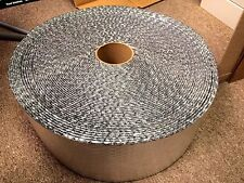 "DOUBLE FOIL, REGULAR BUBBLE INSULATION WRAP 6"" X 125'"