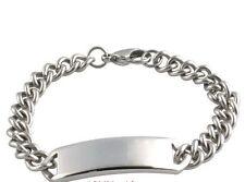 Bangle No Stone Sterling Silver Bracelets for Men