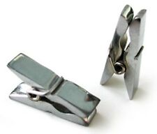 Chrome mini clothes pin nipple clamps free shipping, pair