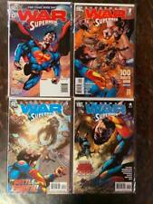 Superman: War of the Supermen Comic Book Lot, Nm, Dc, 2010