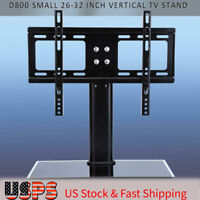Adjustable Universal TV Stand Replacement Pedestal Base TV Bracket 26-32inch
