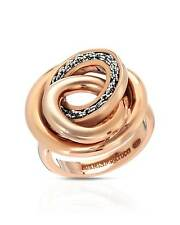 ADAMI & MARTUCCI Mesh Collection Cocktail Ring Rose Gold / Sterling s 7 $150