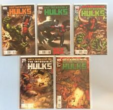 The Incredible Hulk # 627, 628, 630, 632 & 634 Marvel Comics VF/NM 2011