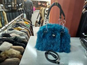 REAL FUR FOX EXCELLENT QUALITY AND REAL LEATHER HANDMADE